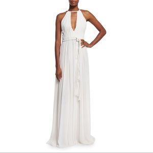 Alice + Olivia 4 White 'Nomi' Grecian Maxi Dress